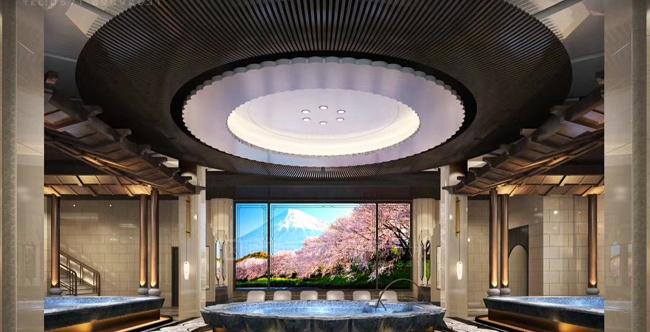 Ainetv爱视娱乐电视庆祝杭州瑭源度假酒店盛大开业 (2)